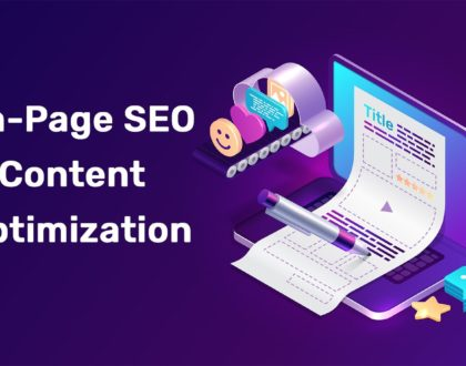 On-Page SEO Optimization – Correct content optimization