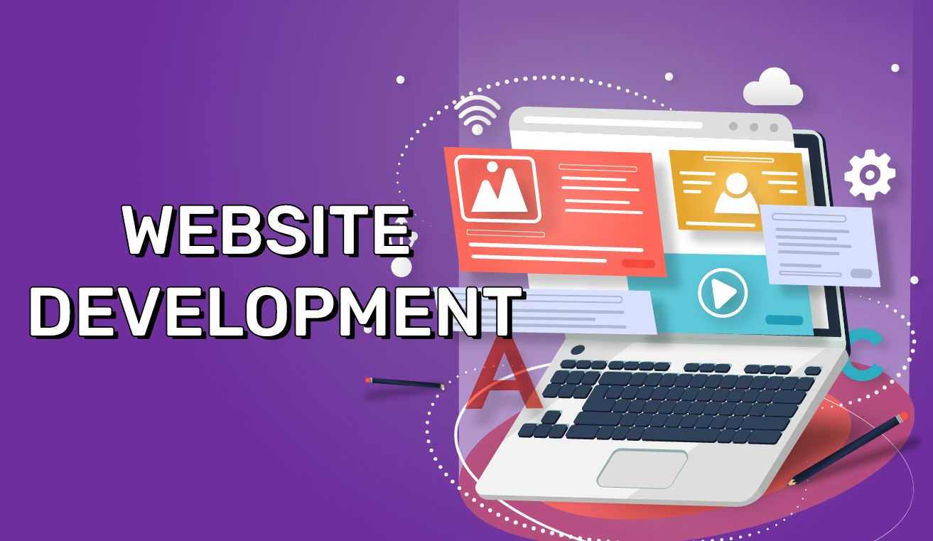 Dezvoltare Website, Website development